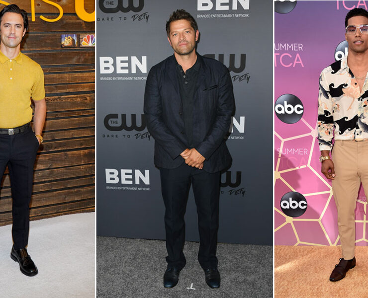 Red Carpet Recap: Milo Ventimiglia, Misha Collins, Rome Flynn
