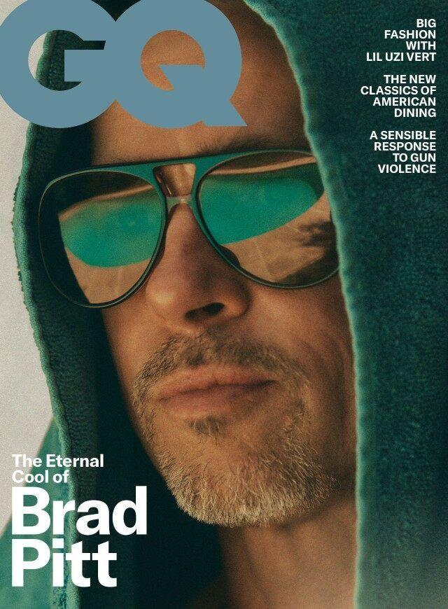 Brad Pitt GQ October 2019