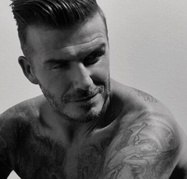 David Beckham For AnOther Man