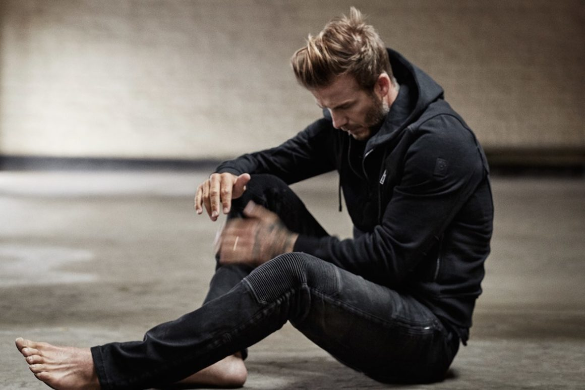 David Beckham for Mr. Porter