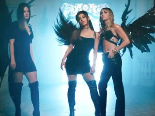 'Don't Call Me Angel' Music Video