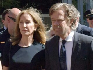 Felicity Huffman Appears In Court For Sentencing After Pleading Guilty To College Admission Fraud Charges