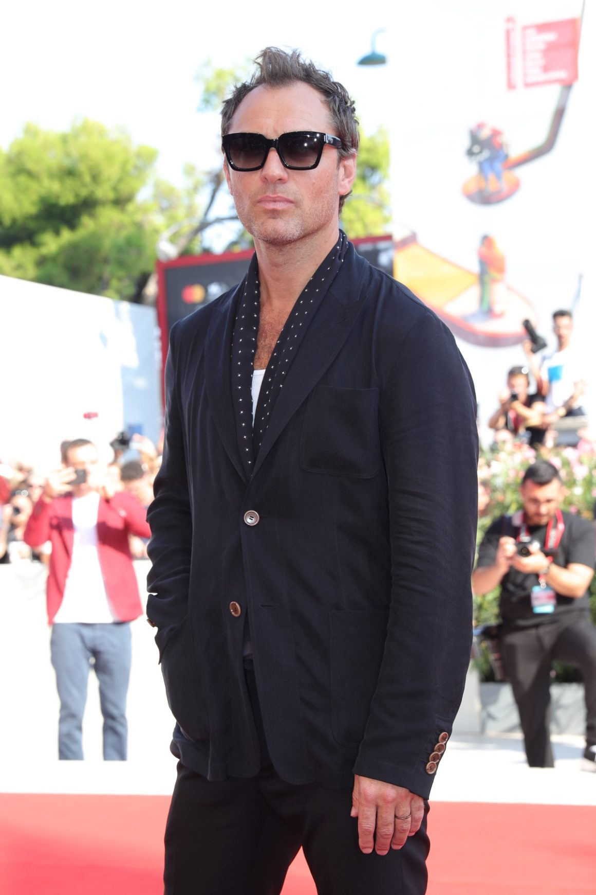 """""""The New Pope"""" Red Carpet Arrivals - The 76th Venice Film Festival"""