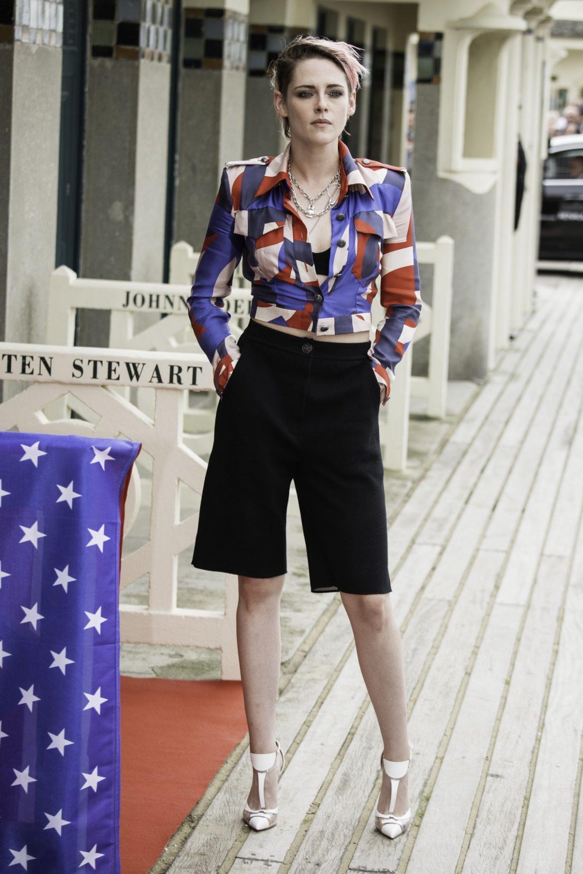 Kristen Stewart : Photocall - 45th Deauville American Film Festival