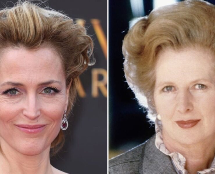 Gillian Anderson Cast As Margaret Thatcher