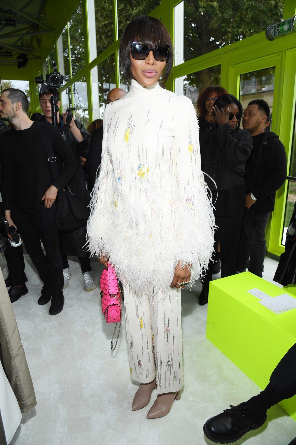 Valentino : Front Row -  Paris Fashion Week - Womenswear Spring Summer 2020