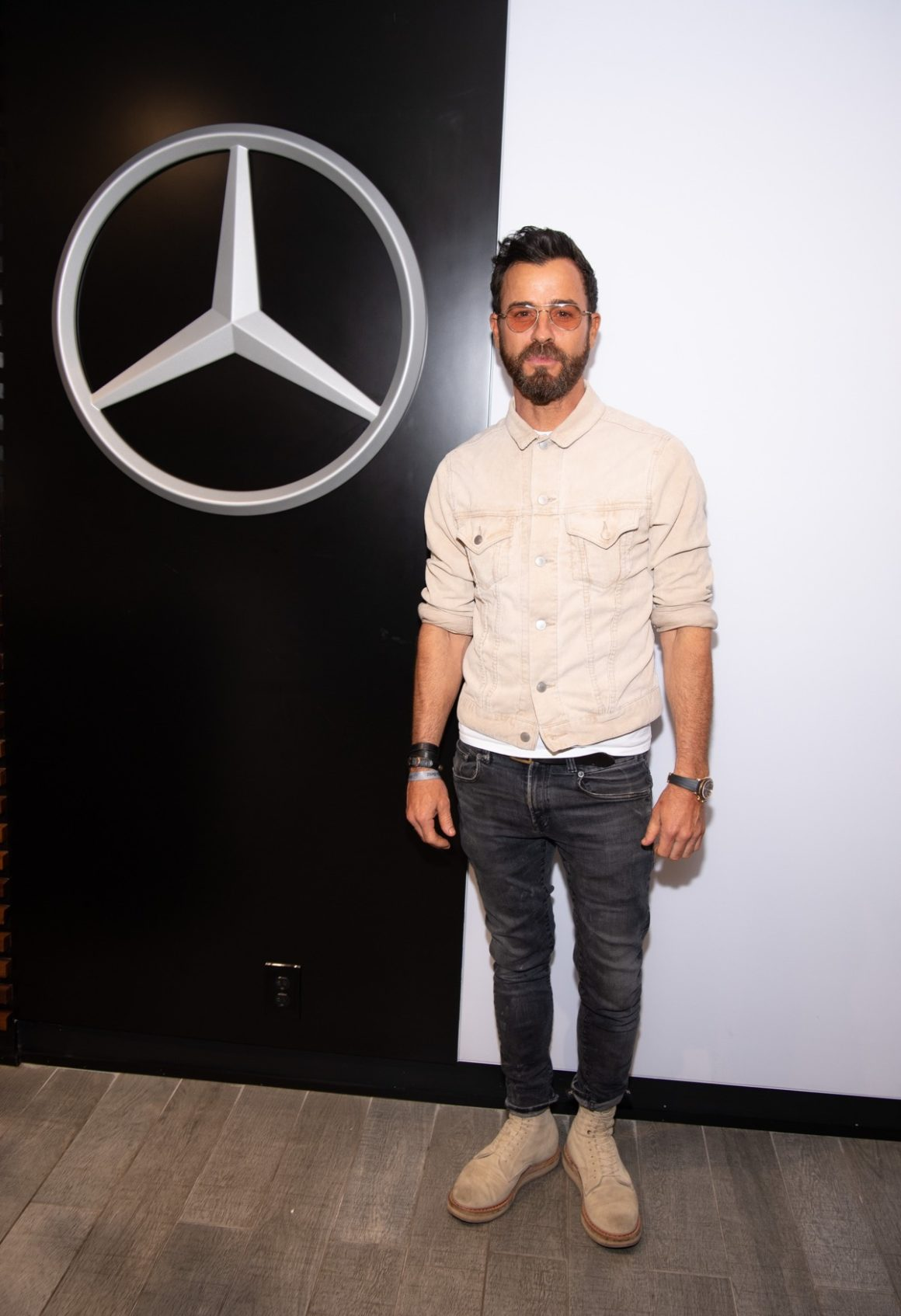 Celebrities Enjoy The Mercedes-Benz VIP Suite At The US Open