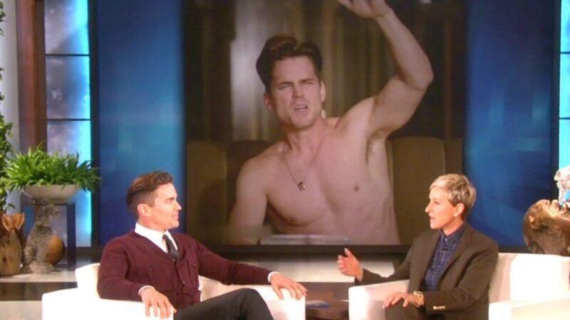 Matt Bomer on Ellen