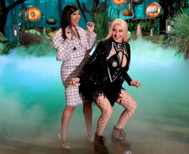 Cardi B and Ellen DeGeneres