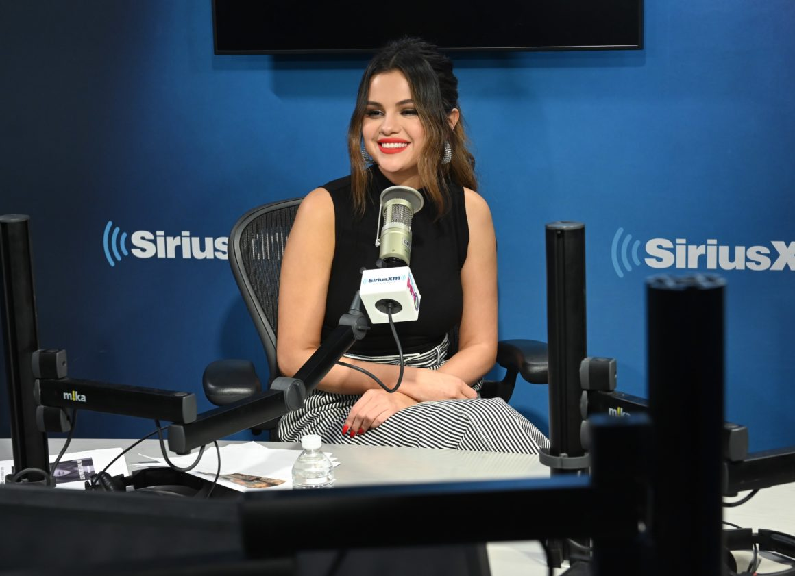 Selena Gomez Visits The SiriusXM Studios In New York City