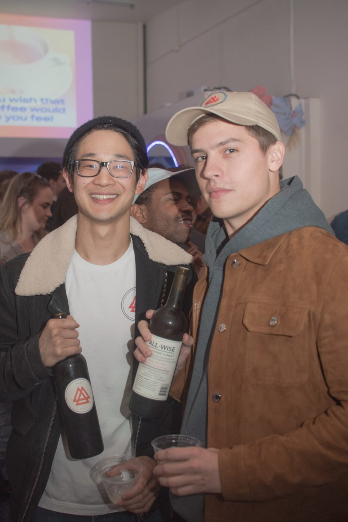 Matt Kwan, Operations Manager of All-Wise Meadery, Dylan Sprouse, Co-Founder of All-Wise Meadery