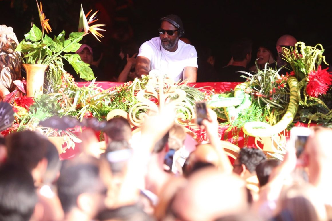 Idris Elba performs during Wynn Nightlife's three-day music experience, Art of the Wild
