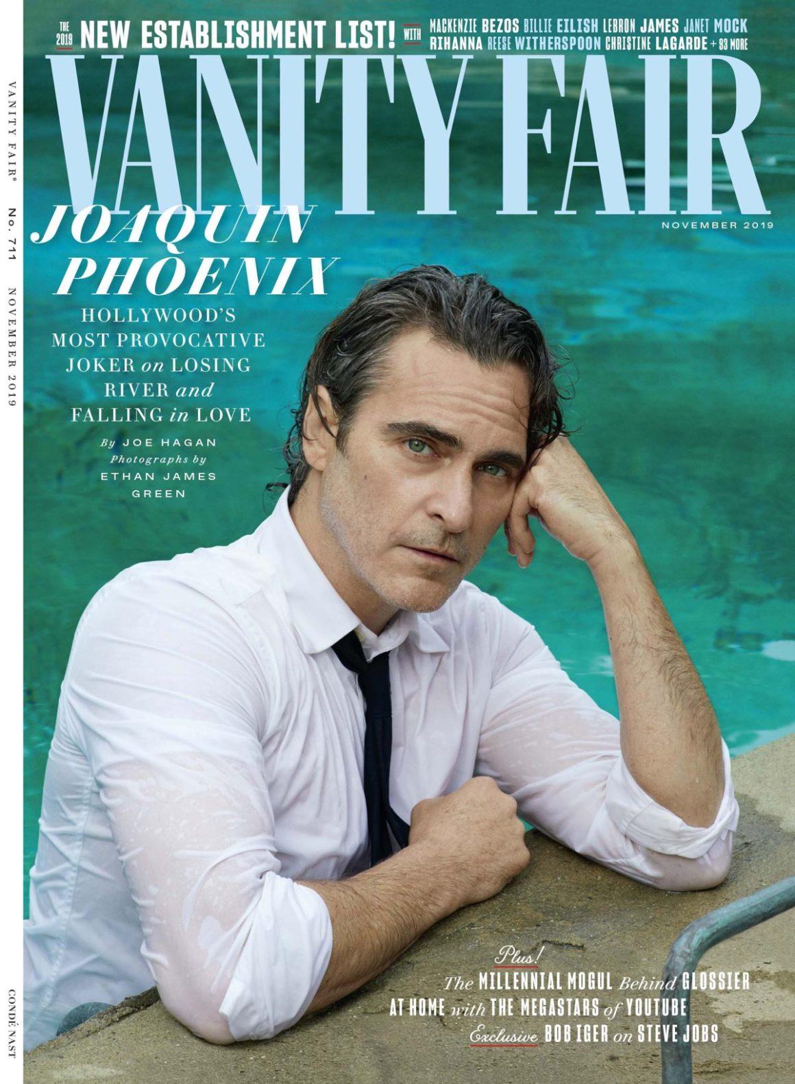Joaquin Phoenix for Vanity Fair
