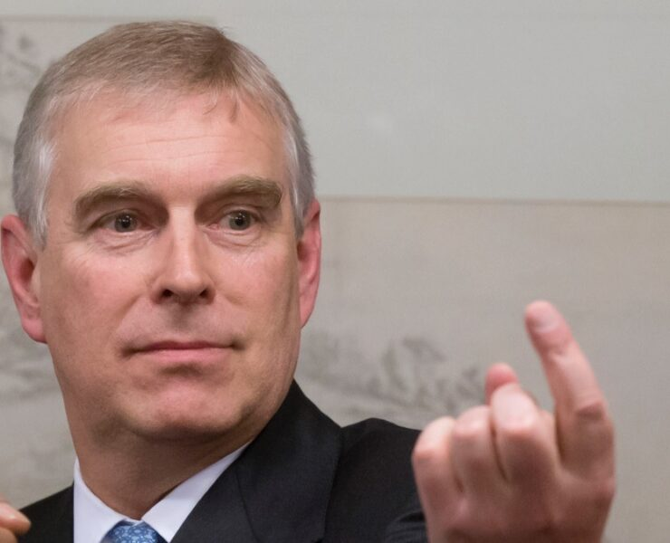 The Duke Of York Hosts A Reception At The World Economic Forum