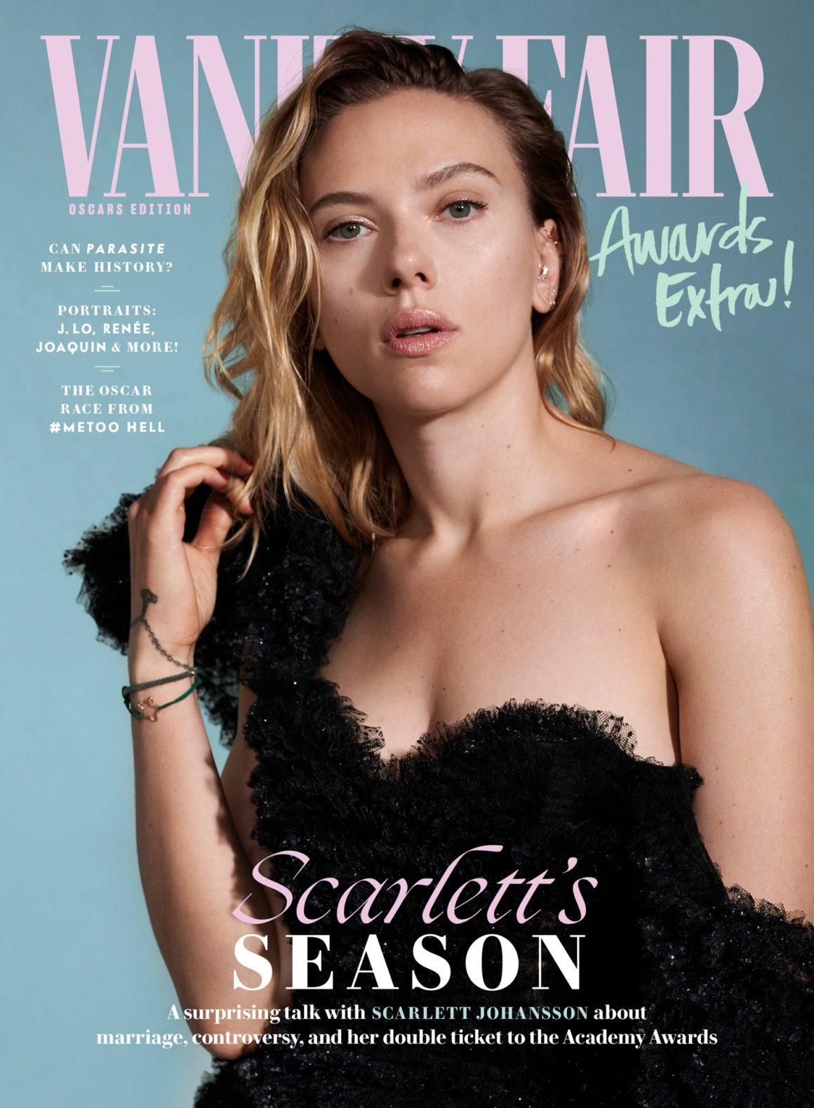 Scarlett Johansson for Vanity Fair