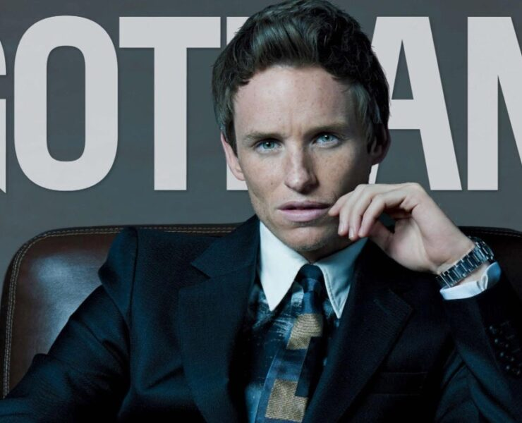 Eddie Redmayne for Gotham Magazine