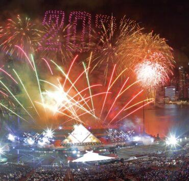 Singapore Celebrates New Year's