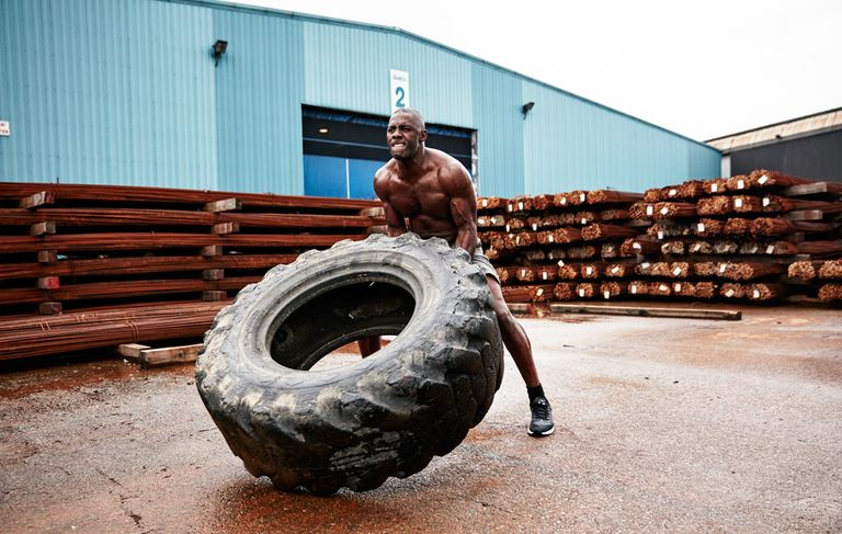 Idris Elba for Men's Health Magazine
