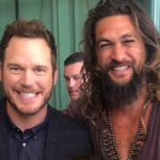 Chris Pratt and Jason Momoa