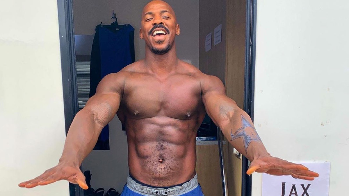 Mehcad Brooks shirtless