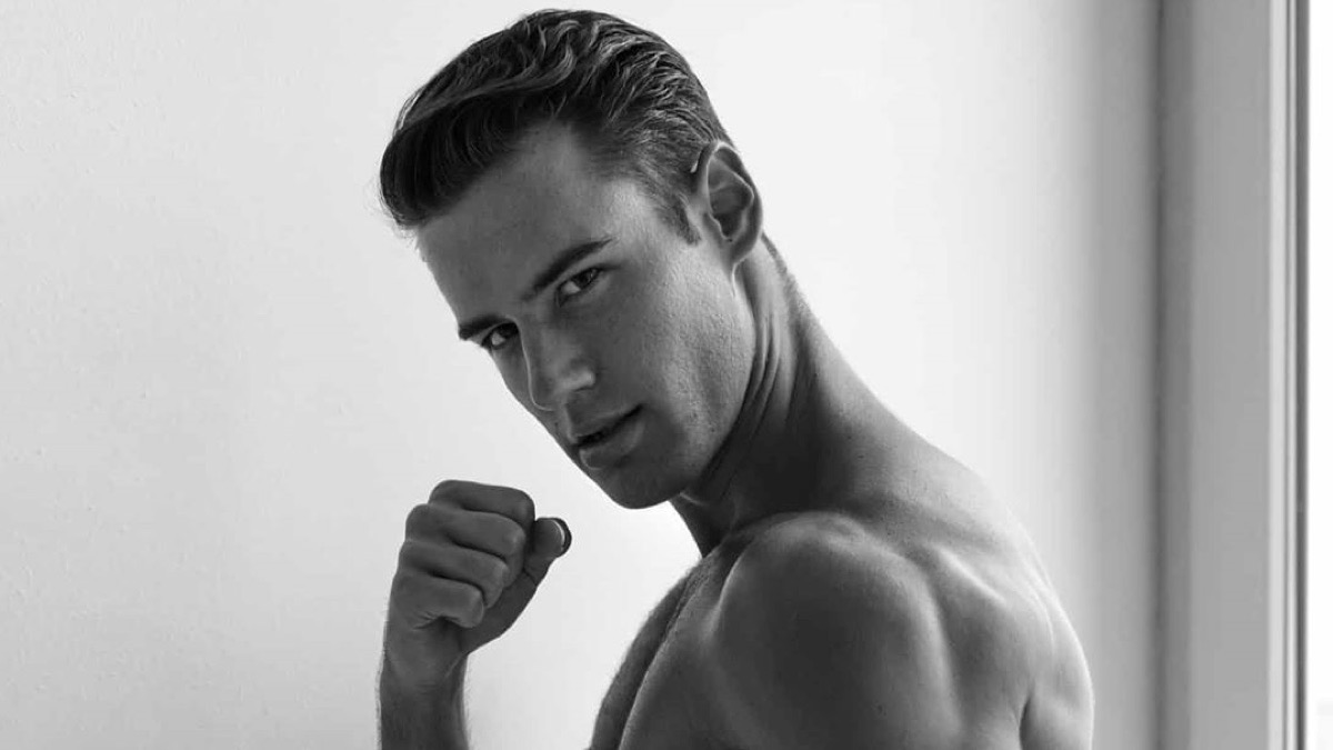 Male Model Balázs Kolas
