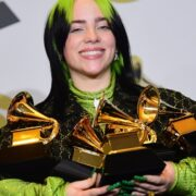 Billie Eilish and her Grammys