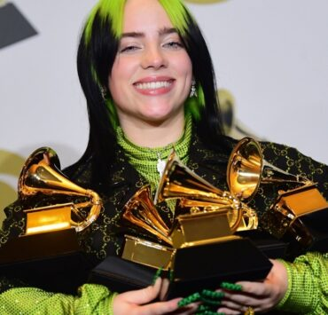 Billie Eilish and her Grammys