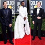 2020 Golden Globes Red Carpet Men