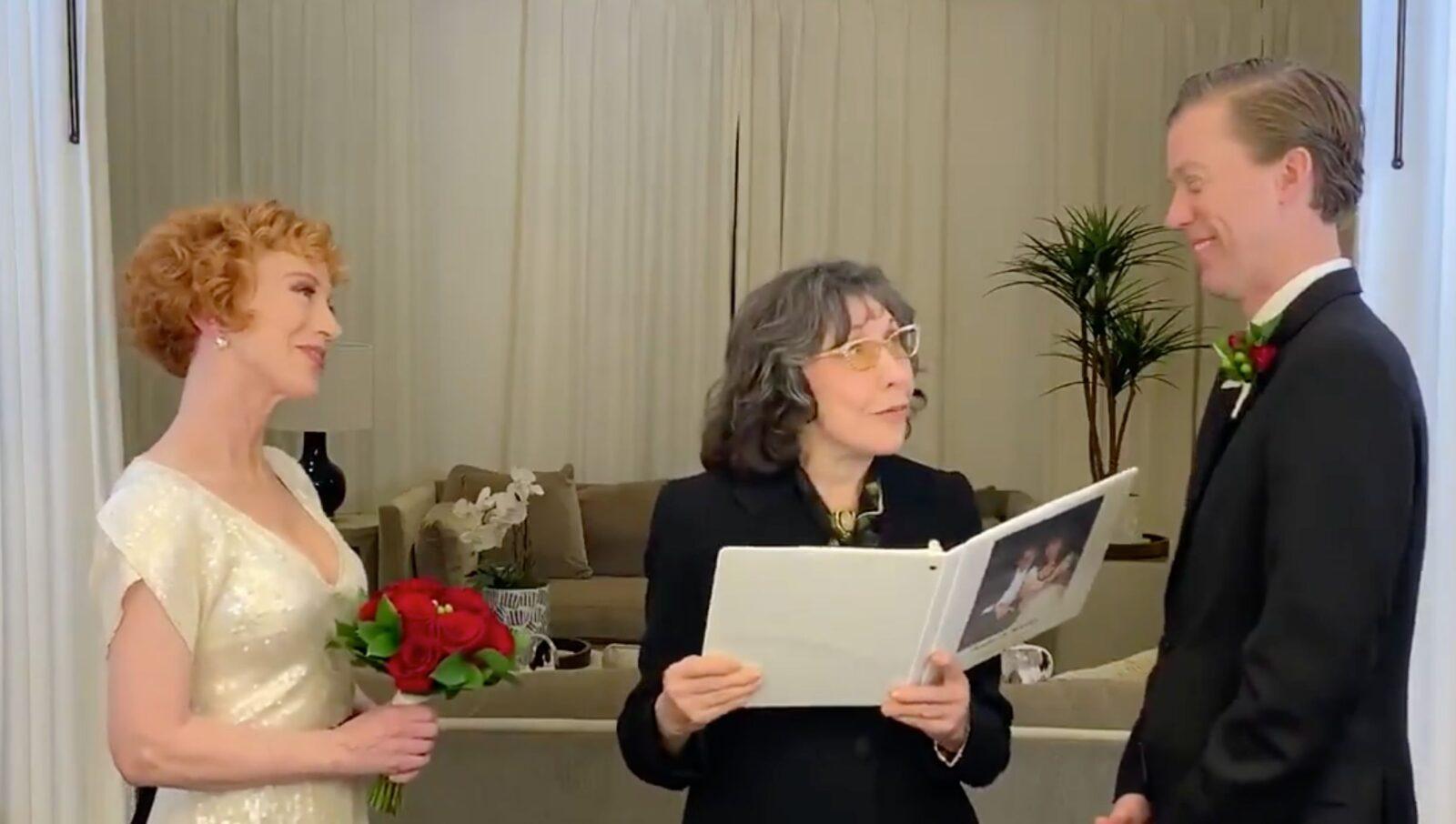 Kathy Griffin wedding