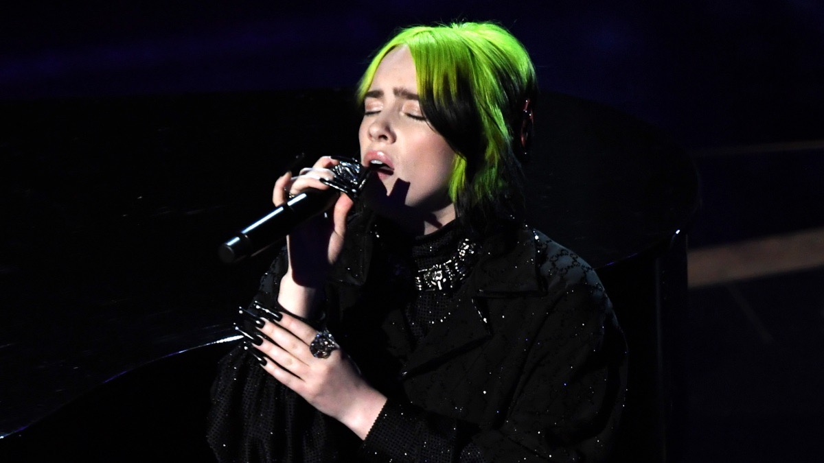 Billie Eilish performs