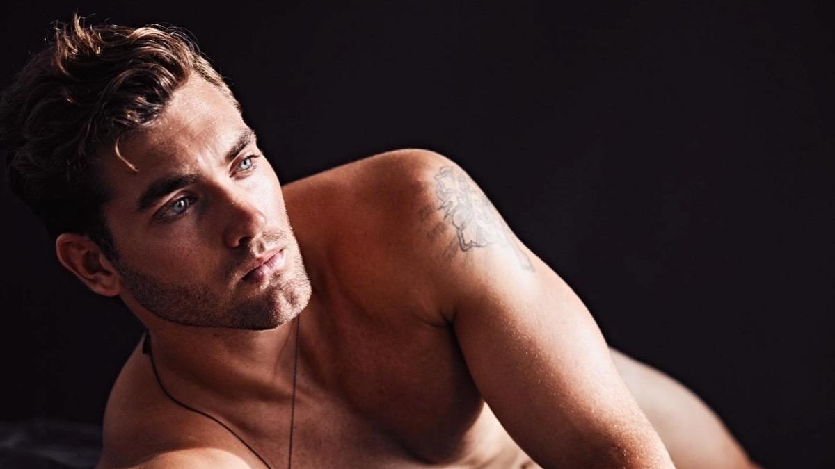 male model Jake Hobbs