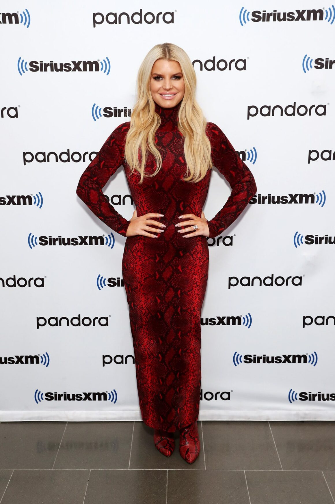 SiriusXM's Town Hall With Jessica Simpson Hosted By Andy Cohen