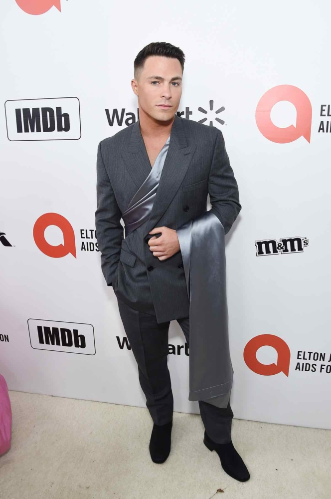 28th Annual Elton John AIDS Foundation Academy Awards Viewing Party Sponsored By IMDb, Neuro Drinks And Walmart - Red Carpet