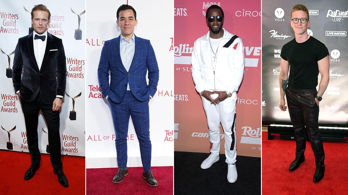 Red Carpet Recap: Sam Heughan, Conrad Ricamora, Sean Combs, Tyler Oakley
