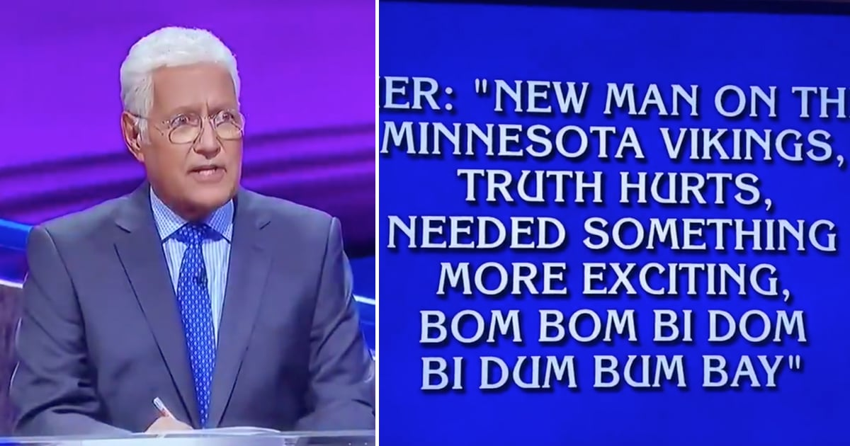 What the World Needs Now, Alex Trebek Reciting Lizzo's 'Truth Hurts' Lyrics
