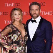 Blake Lively and Ryan Reynolds attend the 2017 Time 100 Gala