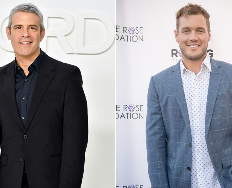 Andy Cohen and Colton Underwood
