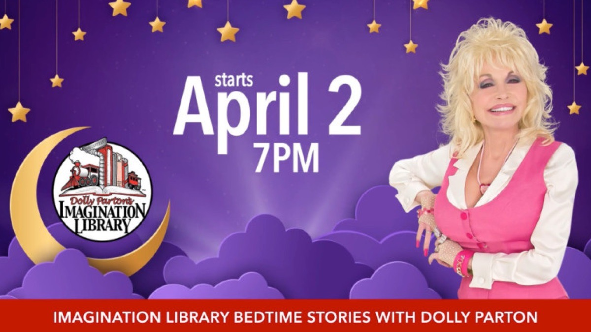 Get Ready for Bedtime Stories With Dolly Parton