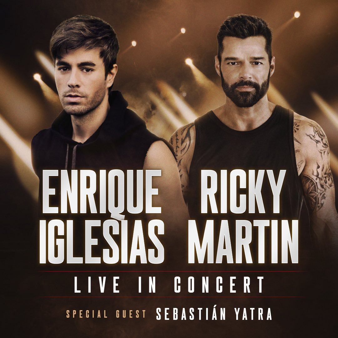 Ricky Martin and Enrique Iglesias to Launch Joint Arena Tour