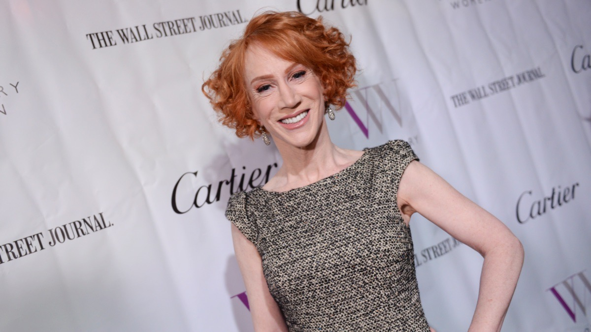 Kathy Griffin Hospitalized in COVID-19 Ward, Can't Get Tested