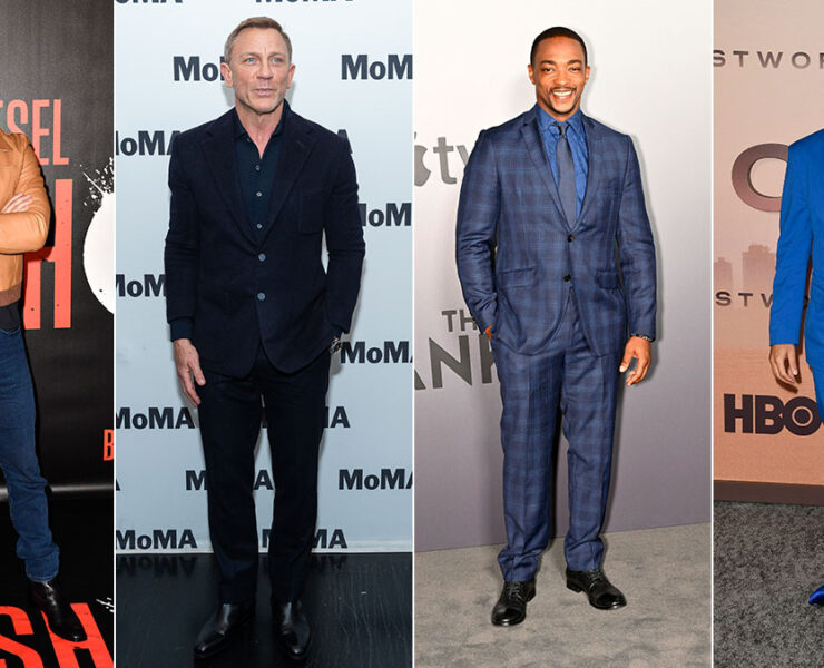 Red Carpet Recap: Sam Heughan, Daniel Craig, Anthony Mackie, Leonardo Nam