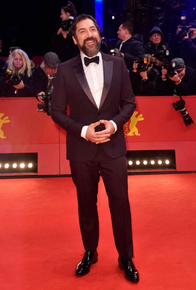 Javier Bardem at the 70th Berlinale film festival in Berlin