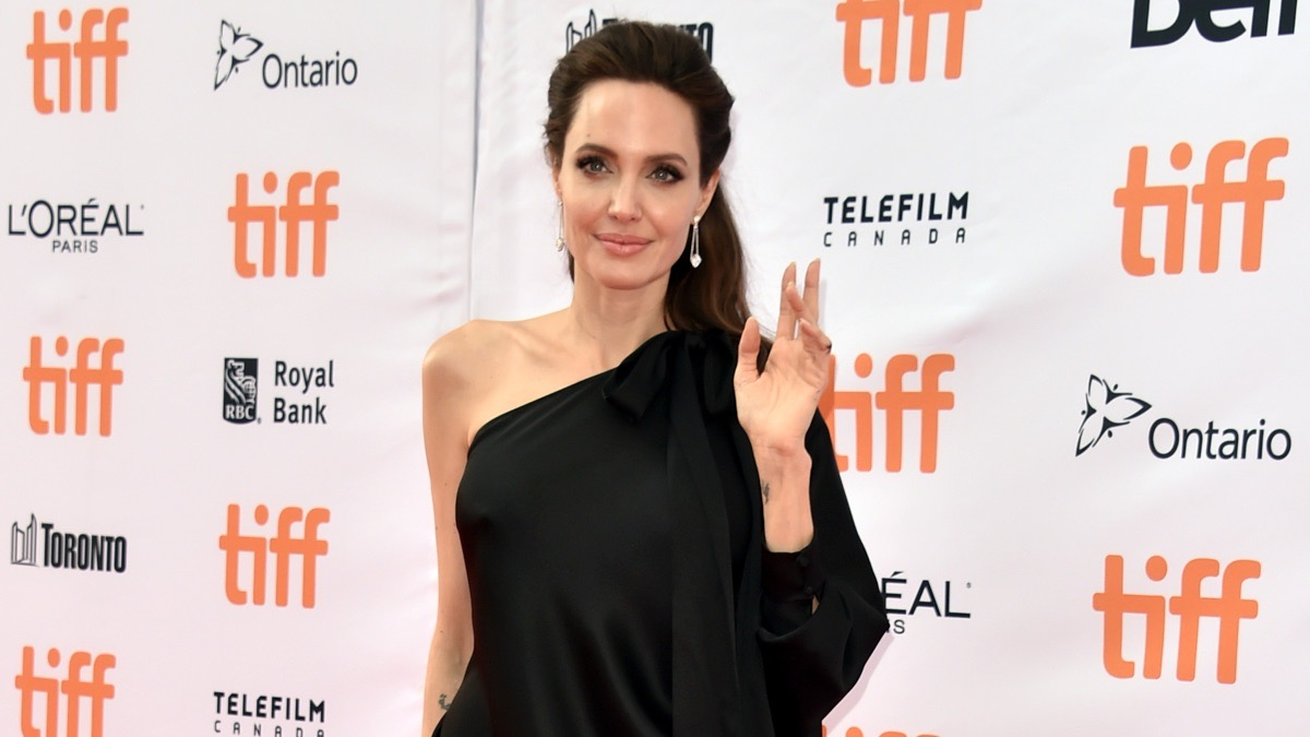 "Angelina Jolie attends the ""First They Killed My Father"" premiere"