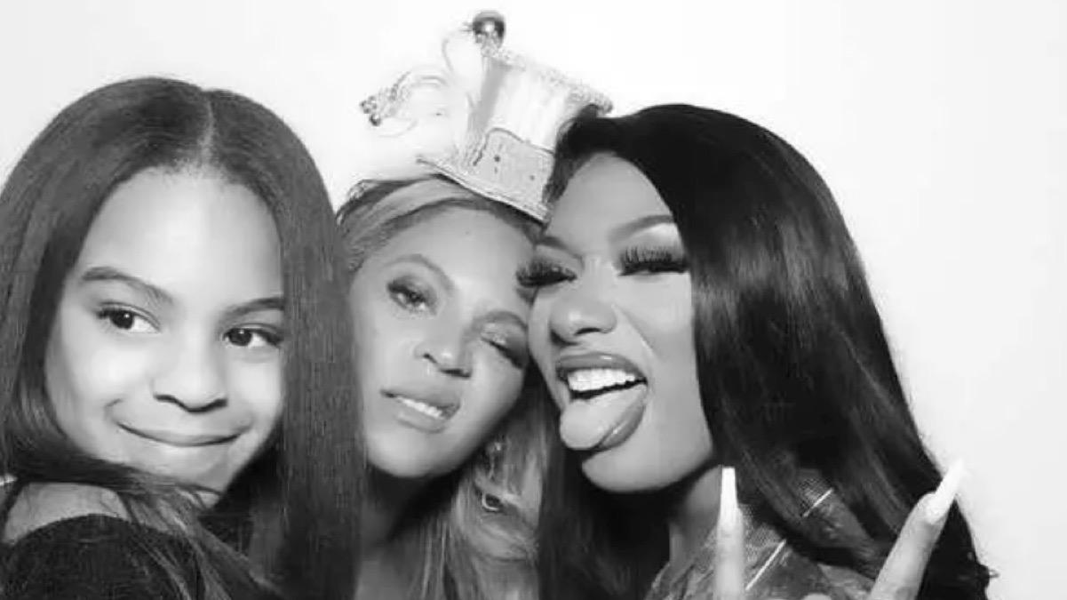 Megan Thee Stallion and Beyoncé