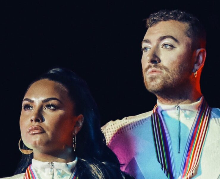 Demi Lovato and Sam Smith Go For Gold on 'I'm Ready'