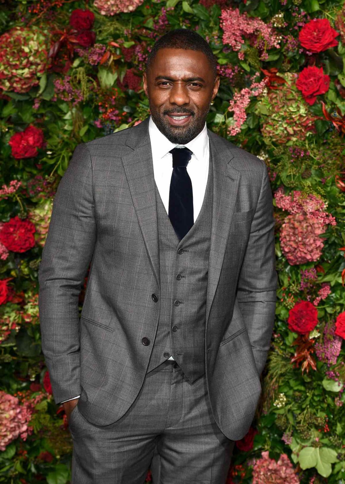 Idris Elba at the Evening Standard Theatre Awards - Red Carpet Arrivals