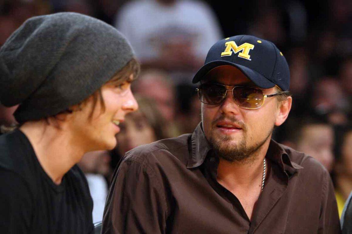 Leonardo DiCaprio and Zac Efron