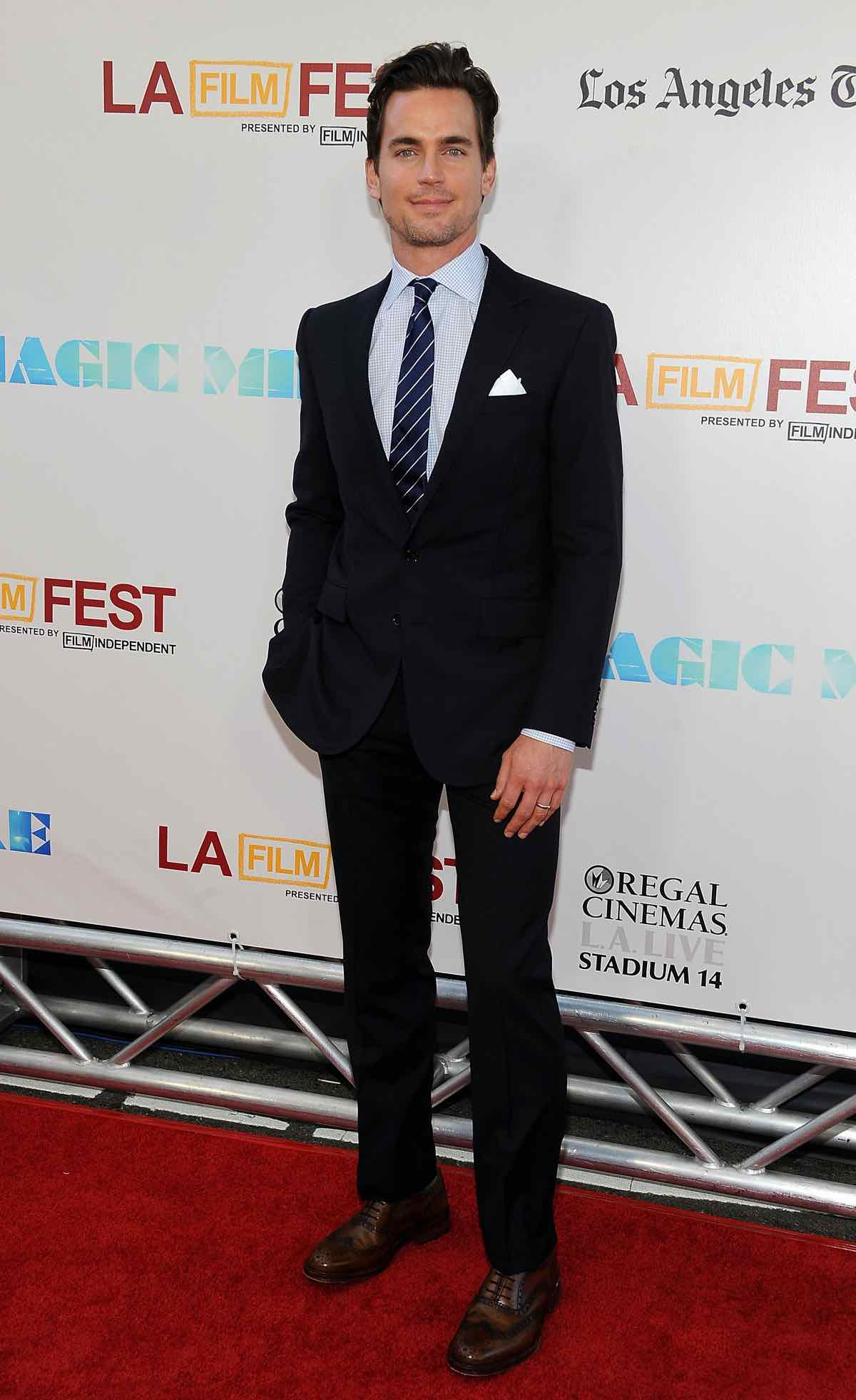 Actor Matt Bomer arrives at the Premiere