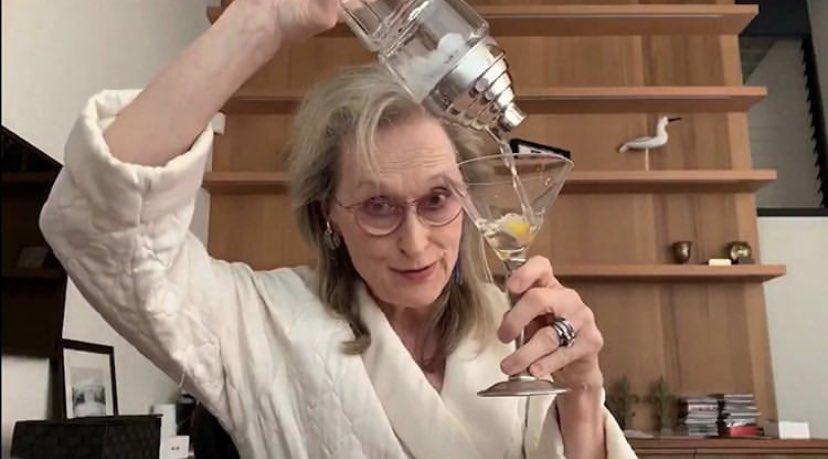 Meryl Streep Martini