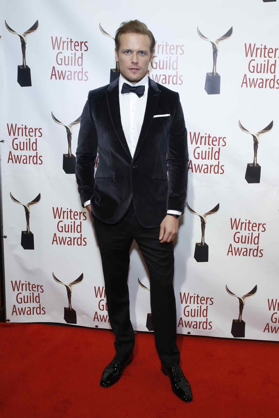 Sam Heughan 72nd Writers Guild Awards - New York Ceremony - Inside